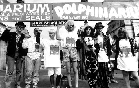 Dolphinarium Protest 1990